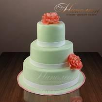 Свадебный торт № 021 С