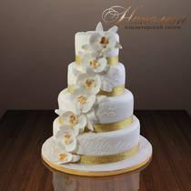 Свадебный торт № 023 С