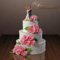 Свадебный торт № 031 С
