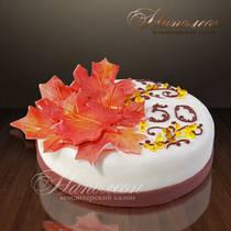 """Подарочный торт """"Листва"""" 055 Т"""