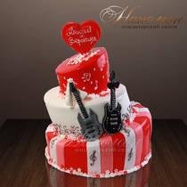 Свадебный торт № 042 С