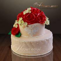 Свадебный торт № 065 С