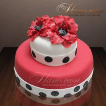 Свадебный торт № 067 С