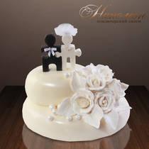 Свадебный торт № 080 С