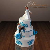 Свадебный торт № 081 С
