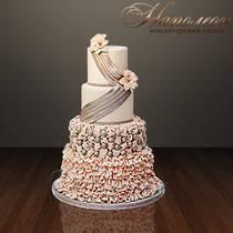 Свадебный торт № 037 С