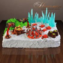 Оригинальный торт 011 ор