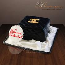 """Торт """"Сумочка от Chanel"""" № 027 Ж"""