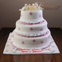 Свадебный торт № 118 С