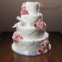 Свадебный торт № 120 С