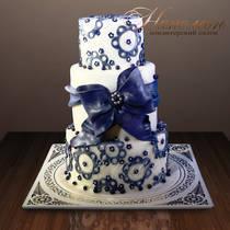 Свадебный торт № 124 С