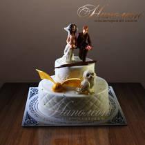 Свадебный торт № 132 С