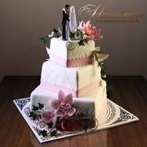 Свадебный торт № 133 С