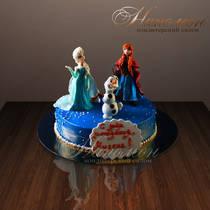 "Детский торт ""Холодное сердце"" № 149 Д"