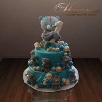 """Детский торт """"С мишкой Тедди"""" № 160 Д"""