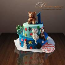 "Детский торт ""Малышу или малышке"" № 162 Д"