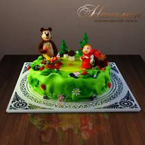 Торт Маша в лесу 172 Д