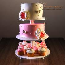 Свадебный торт № 138 С
