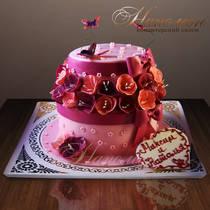 Свадебный торт № 143 С