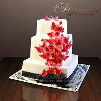 Свадебный торт № 144 С