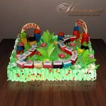 Торт на выпускной из садика № 180 Д