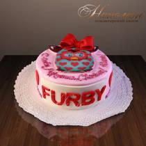 """Детский торт """"Ферби"""" № 191 Д"""