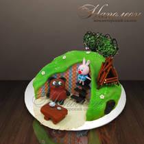 """Детский торт """"Винни в гостях"""" № 014 Д"""