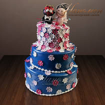 Свадебный торт № 149 С