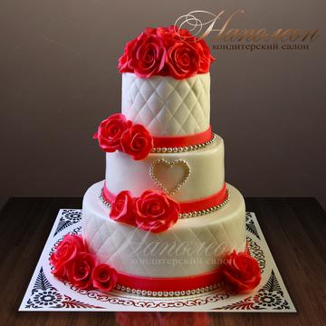 Картинки тортов трехярусных
