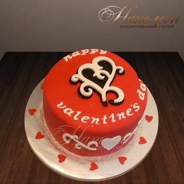 Фото тортов к дню валентина