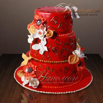 Свадебный торт фото и цена