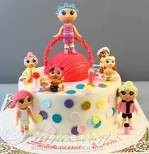 Торт с куклами Лол № 731 Д